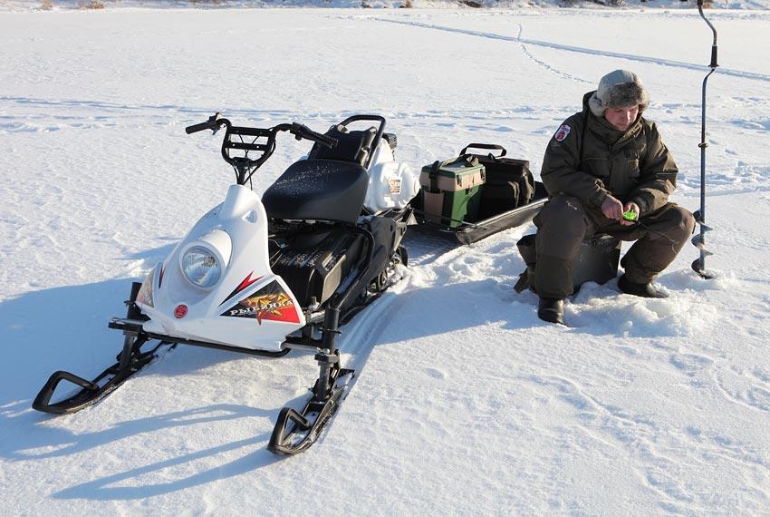 Снегоход Рыбинка мини