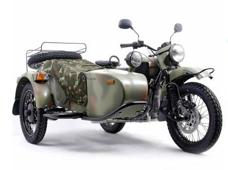 Габариты мотоцикла Урал