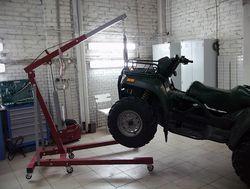 Ремонт, техническое обслуживание квадроциклов