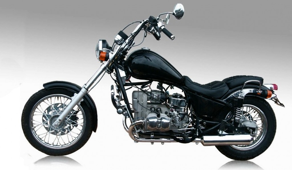 Русский мотоцикл Урал Волк